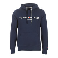 Clothing Men sweaters Tommy Hilfiger TOMMY LOGO HOODY Marine