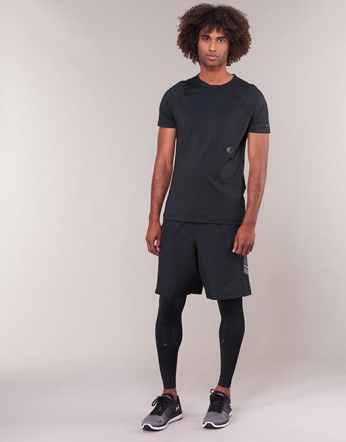 Clothing Men leggings Under Armour RUSH LEGGING Black