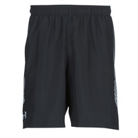 Clothing Men Shorts / Bermudas Under Armour WOVEN GRAPHIC SHORT Black