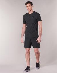Clothing Men Shorts / Bermudas Under Armour WOVEN GRAPHIC SHORT Black