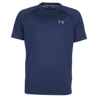 Clothing Men short-sleeved t-shirts Under Armour TECH 2.0 SS TEE Marine