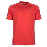 Clothing Men short-sleeved t-shirts Under Armour TECH 2.0 SS TEE Red