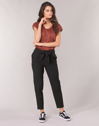 Clothing Women Chinos Only ONLNICOLE Black