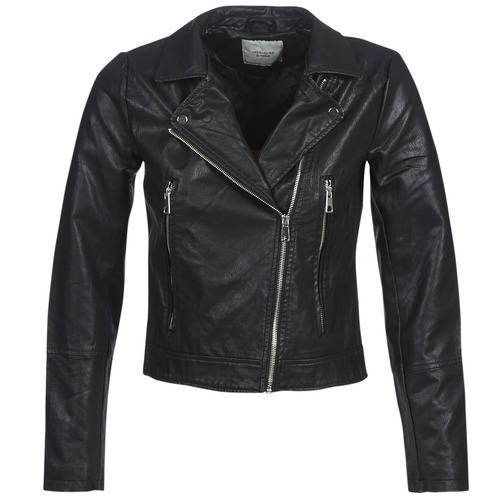 Clothing Women Leather jackets / Imitation leather JDY JDYILDE Black