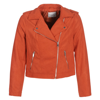 Clothing Women Leather jackets / Imitation leather JDY JDYINU Red
