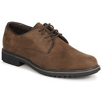 Shoes Men Derby Shoes Timberland EK STORMBUCK PLAIN TOE OXFORD Brown / Dark