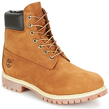 Shoes Men Mid boots Timberland 6 INCH PREMIUM BOOT Beige