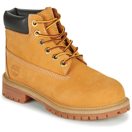 Shoes Children Mid boots Timberland 6 IN PREMIUM WP BOOT Beige