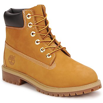 Shoes Boy Mid boots Timberland 6 IN PREMIUM WP BOOT Cognac