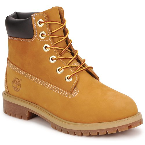 Shoes Children Mid boots Timberland 6 IN PREMIUM WP BOOT HONEY