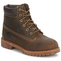 Shoes Children Mid boots Timberland 6 IN WP BOOT Brown