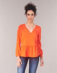 Clothing Women Tops / Blouses Vila VIROSSIE Red