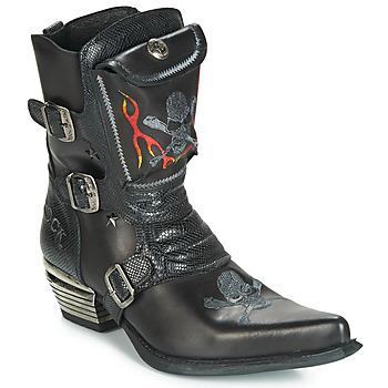 Shoes Men High boots New Rock M-WST024-S3 Black