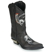Shoes Men High boots New Rock M-WST027-S1 Black