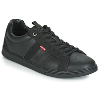 Shoes Men Low top trainers Levi's TULARE Black
