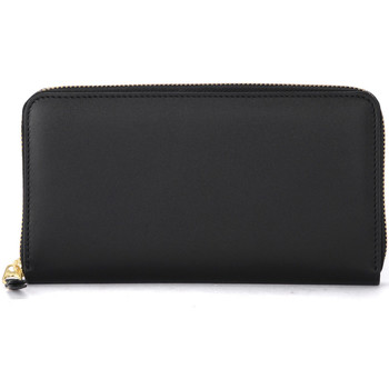 Bags Women Wallets Comme Des Garcons Portafoglio in pelle nera Black