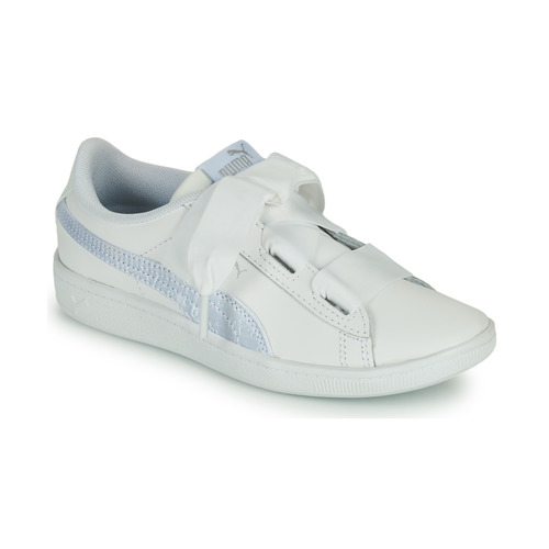 Shoes Children Low top trainers Puma VIKKY RIB PS BL White