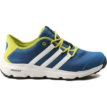 Shoes Children Low top trainers adidas Originals Adidas Terrex CC Voyager K BB1944 blue, green, white