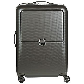Bags Hard Suitcases Delsey TURENNE 4DR 65CM Grey