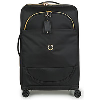 Bags Soft Suitcases Delsey MONTROUGE EXTENSIBLE 4R 68CM Black