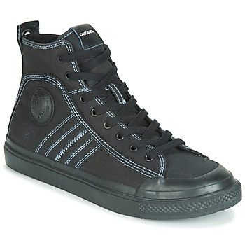 Shoes Men Hi top trainers Diesel S-ASTICO MID LACE Black