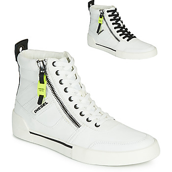 Shoes Men Hi top trainers Diesel S-DVELOWS White