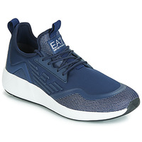 Shoes Men Low top trainers Emporio Armani EA7 MINIMAL SLIP ON U Blue