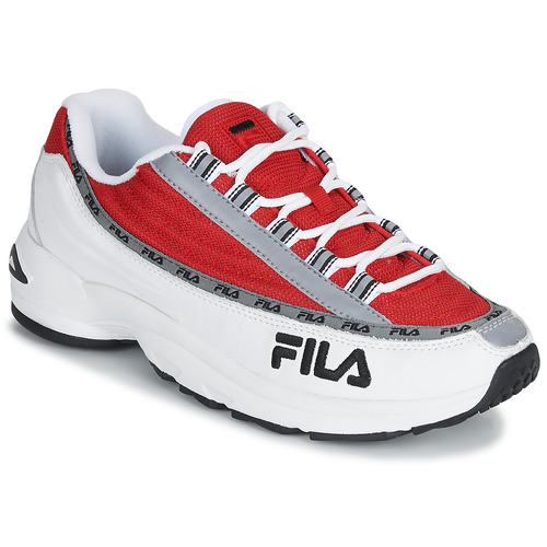 Shoes Men Low top trainers Fila DSTR97 White / Red