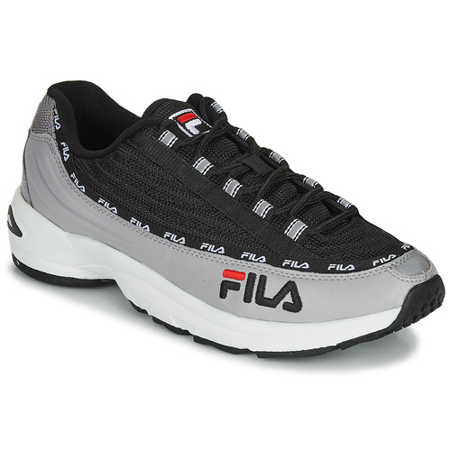 Shoes Men Low top trainers Fila DSTR97 Black / Grey