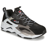 Shoes Men Low top trainers Fila RAY TRACER Black