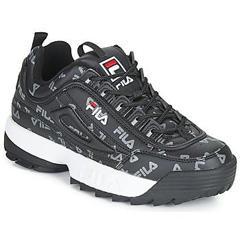 Shoes Women Low top trainers Fila DISRUPTOR LOGO LOW WMN Black