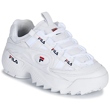 Shoes Women Low top trainers Fila D FORMATION WMN White