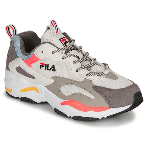 Shoes Women Low top trainers Fila RAY TRACER WMN White / Grey