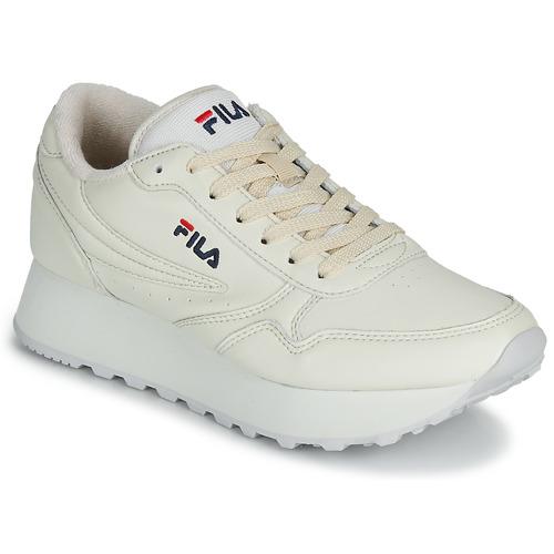 Shoes Women Low top trainers Fila ORBIT ZEPPA L WMN Beige