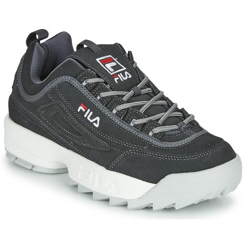 Shoes Men Low top trainers Fila DISRUPTOR LOW Grey