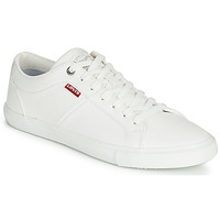 Shoes Women Low top trainers Levi's WOODS W White