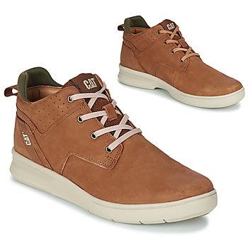 Shoes Men Hi top trainers Caterpillar WARRANT Brown