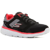 Shoes Children Running shoes Skechers Go Run 400 97681L-BGRD black, red, grey