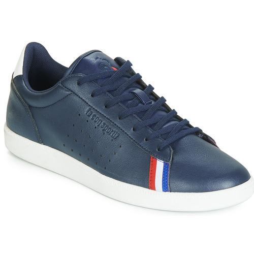 Shoes Men Low top trainers Le Coq Sportif COURTSTAR SPORT Blue / White