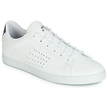 Shoes Women Low top trainers Le Coq Sportif AGATE PREMIUM White / Silver