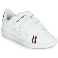 Shoes Children Low top trainers Le Coq Sportif COURTSTAR PS SPORT BBR White