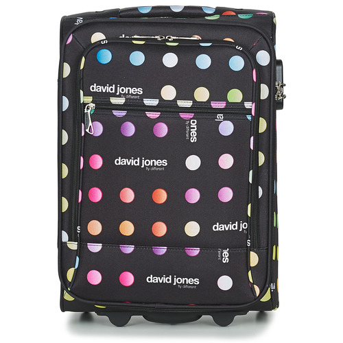 Bags Soft Suitcases David Jones CASILO 41L Multicoloured
