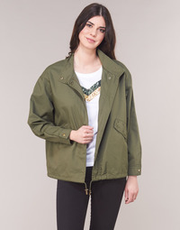 Clothing Women Parkas Only ONLVERA Kaki
