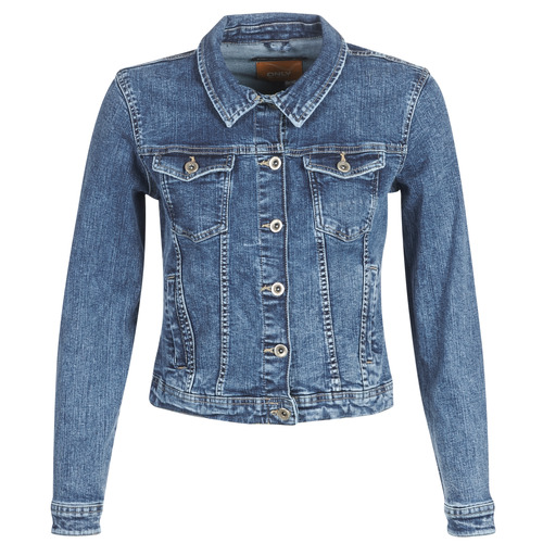Clothing Women Denim jackets Only ONLTIA Blue / Medium