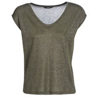 Clothing Women Short-sleeved t-shirts Only ONLSILVERY Kaki