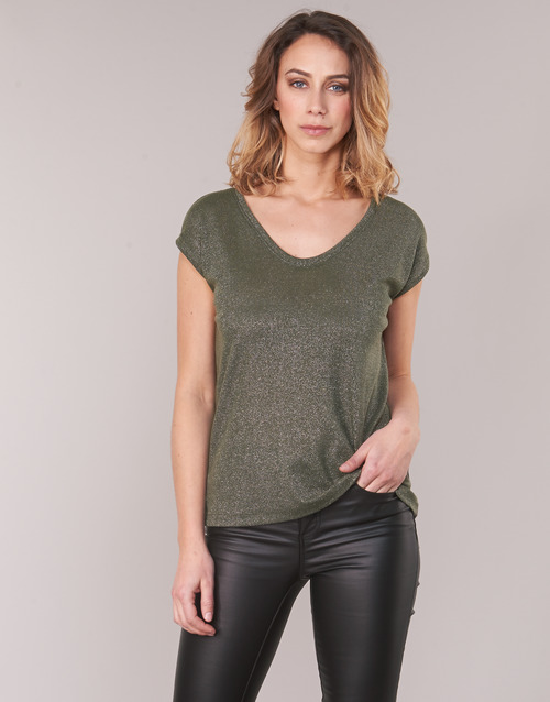 Clothing Women Tops / Blouses Only ONLSILVERY Kaki