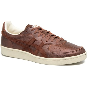 Shoes Low top trainers Asics Gsm Brown