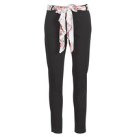 Clothing Women 5-pocket trousers Casual Attitude JIYOO Black