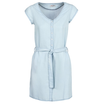 Clothing Women Short Dresses Yurban kOULIENNE Blue / Clear