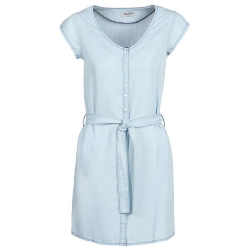 Clothing Women Short Dresses Yurban kOULIENNE Blue / Clear